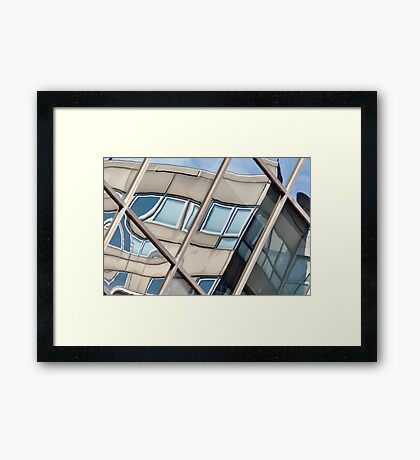 Montreal Reflections VIII Framed Print