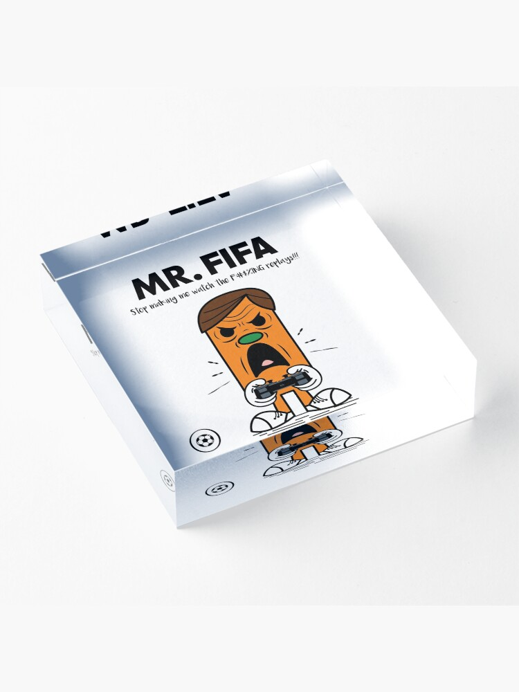 Alternate view of MR. FIFA Acrylic Block