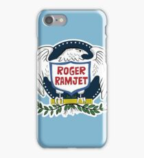 Roger Ramjet Bald Eagle iPhone Case/Skin