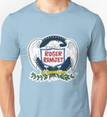 Roger Ramjet Bald Eagle Slim Fit T-Shirt
