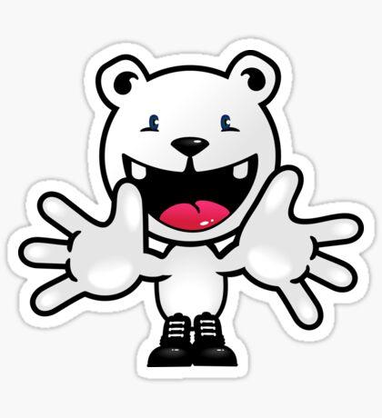 Hello Polar Bear VRS2 Sticker