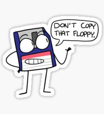 Listen to the Disk Sticker
