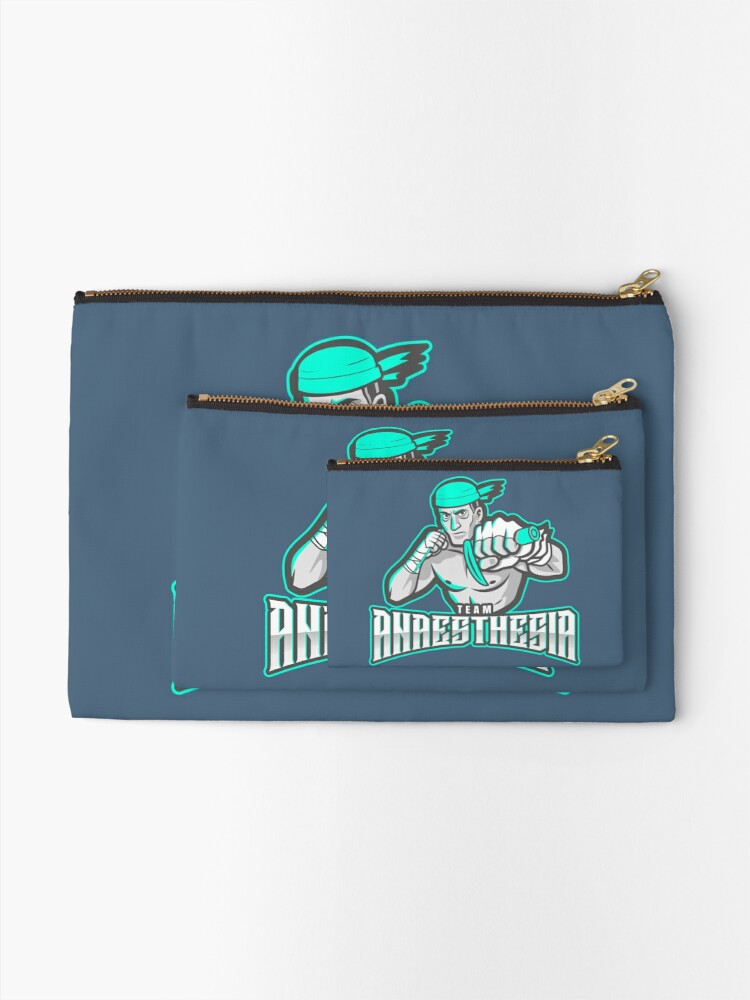 Alternate view of Team Anaesthesia WINNERS Zipper Pouch