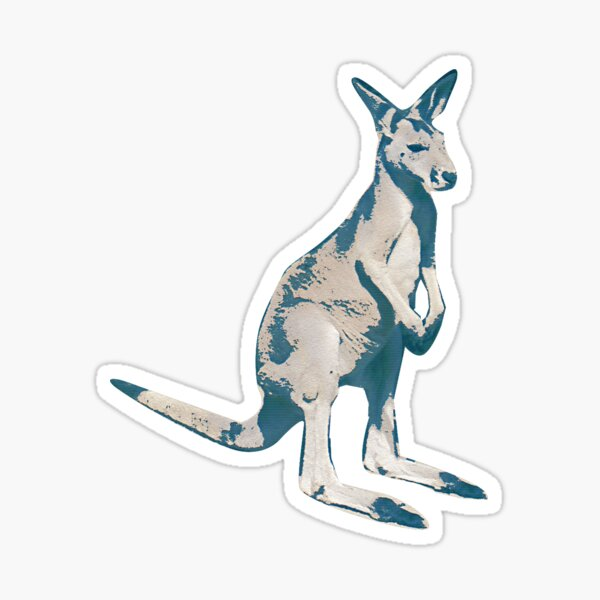 Kangaroo - Jump Sticker
