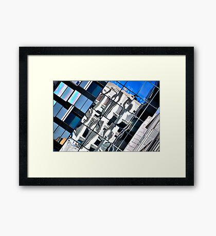 Montreal Reflections XV Framed Print