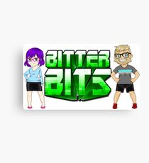 Bitter Bits Duo Canvas Print