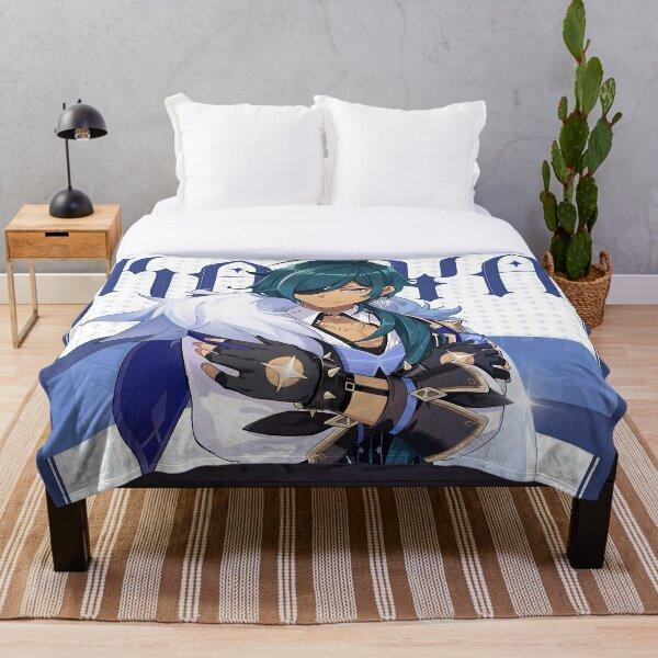 Genshin Impact Kaeya Birthday Official Artwork Throw Blanket