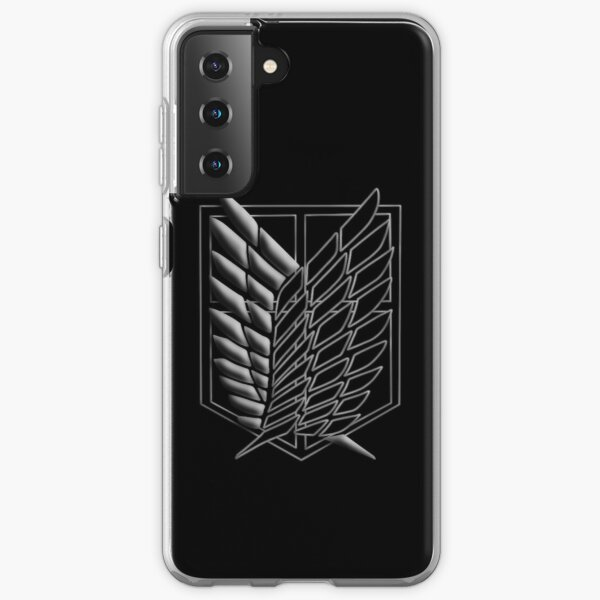 Wings of Freedom - Ataque a Titán Funda blanda para Samsung Galaxy