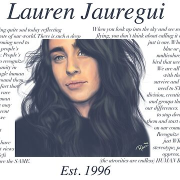 Lauren Jauregui Pastel Sky No Background de itsamoose
