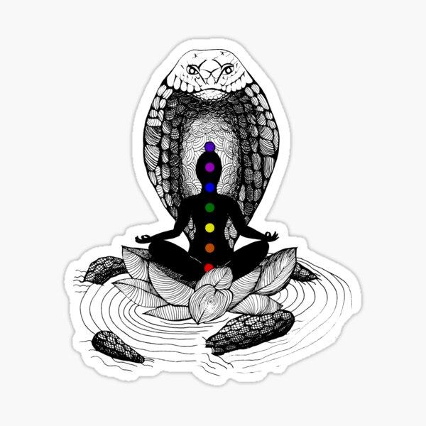 Kundalini Arising Sticker