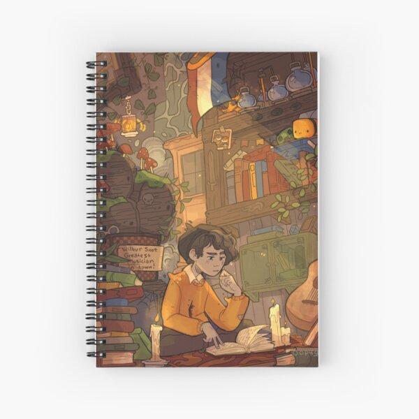 Ghostbur Library Spiral Notebook