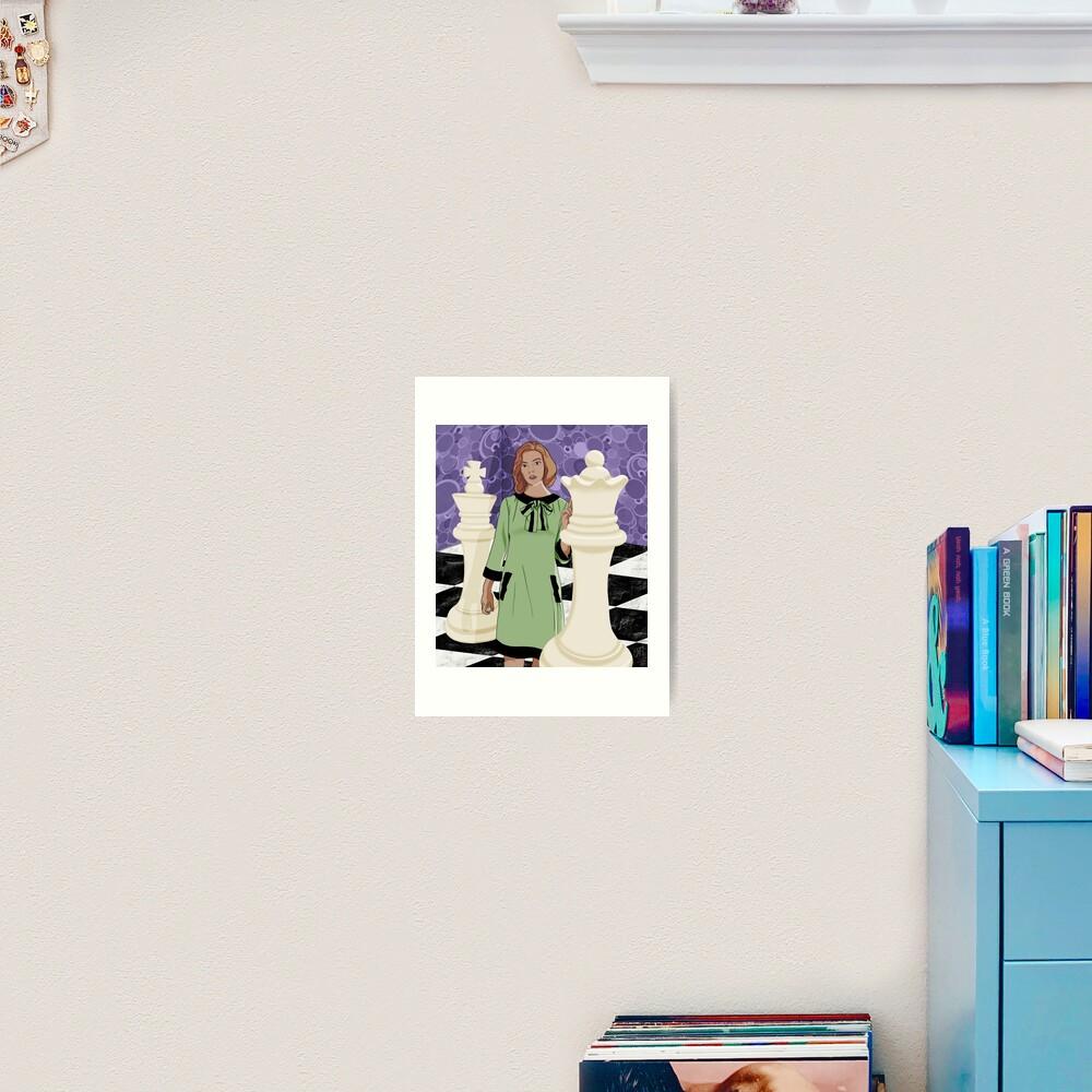 Queen's Gambit Art Print