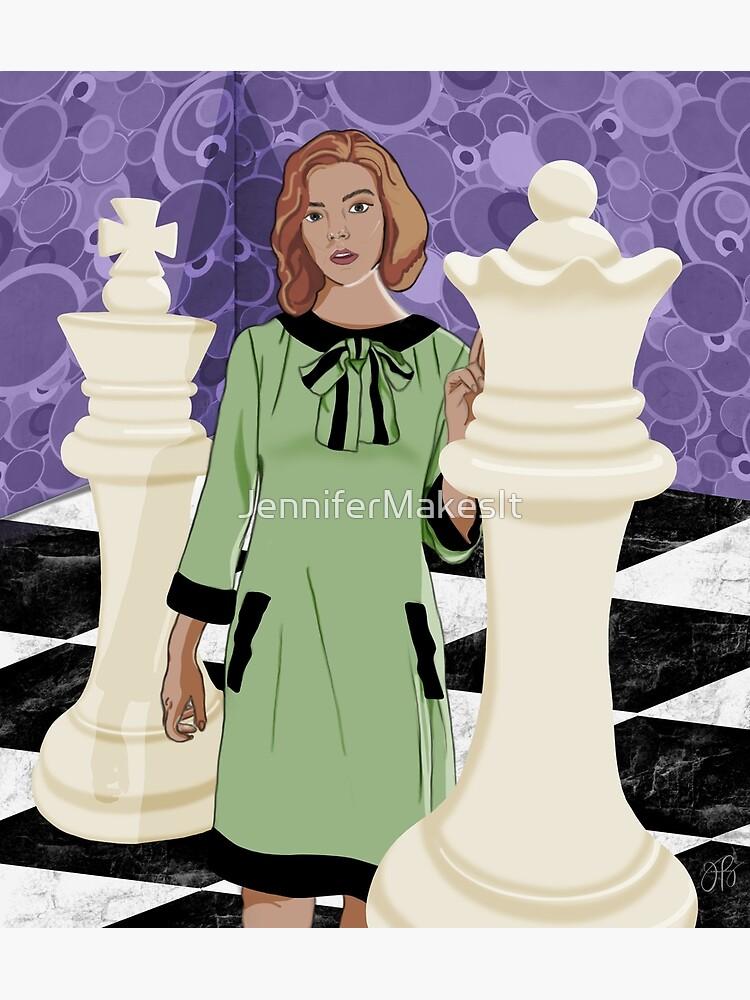 Queen's Gambit by JenniferMakesIt