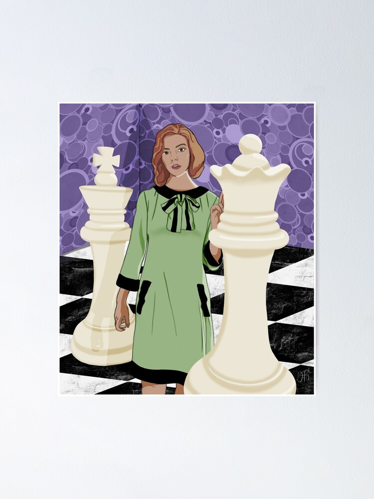 Alternate view of Queen's Gambit Poster