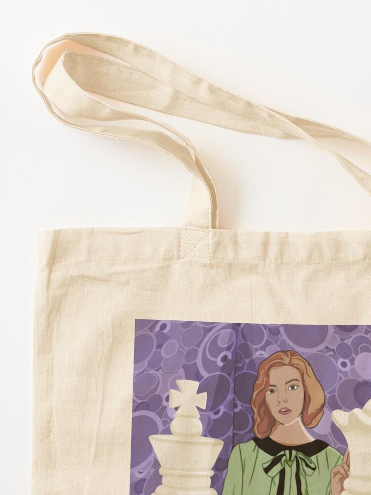 Alternate view of Queen's Gambit Tote Bag
