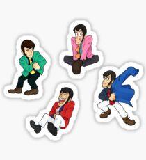 Lupin Stickers Sticker