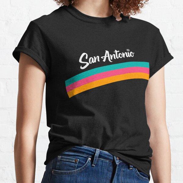 San Antonio Spurs: Fiesta City Jersey 2020-21 Classic T-Shirt