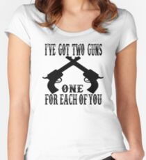 Tombstone Quote Women's Fitted Scoop T-Shirt