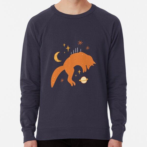 Space Foxes Minimalist Style Lightweight Sweatshirt