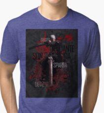 Devil May Cry 1 - Devil Hunter 3 Tri-blend T-Shirt
