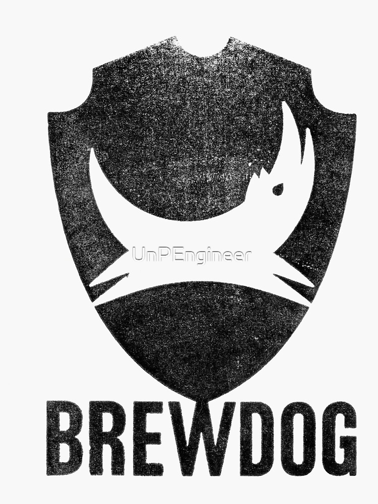 BREWDOG BREW DOG Albino Squid Assassin Can 20 STICKER DECAL craft beer brewery