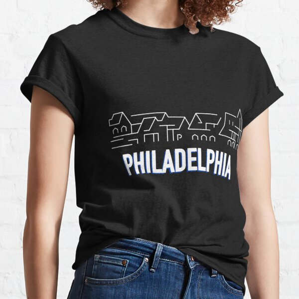 Philadelphia 76ers: Bootshaus Row City Jersey 2020-21 Classic T-Shirt