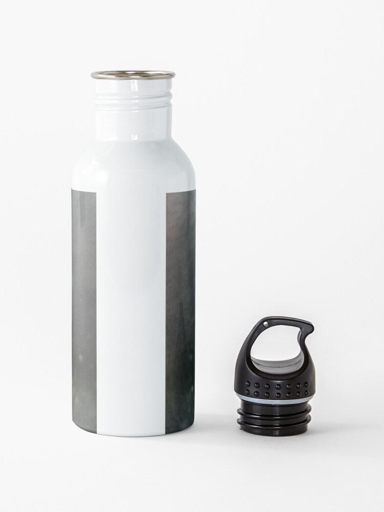 Alternate view of Mothman with Wisps Water Bottle