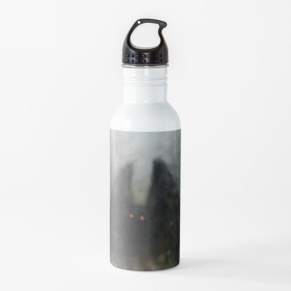 Mothman with Wisps Water Bottle