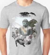 buddha rainbow Unisex T-Shirt