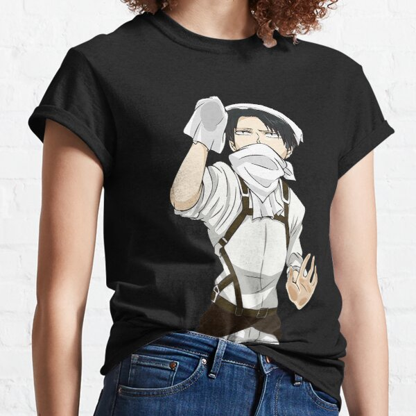 Cleaning Levi - Attack on Titan Classic T-Shirt