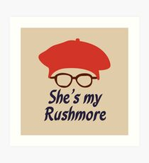 Rushmore is Max Art Print