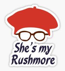 Rushmore is Max Sticker