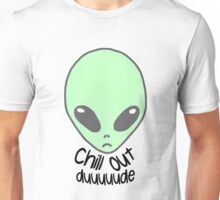 Chill out alien Unisex T-Shirt