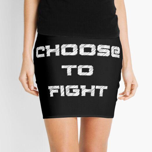 I choose to fight  Mini Skirt