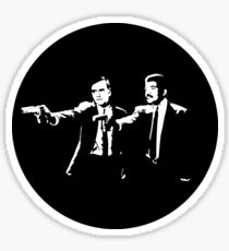 Cosmos Pulp Fiction (Round) Sticker