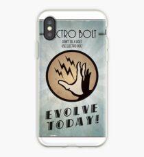 Vinilo o funda para iPhone Bioshock Plasmid Poster Electro Bolt