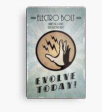 Bioshock Plasmid Poster Electro Bolt Metal Print