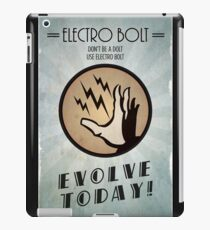 Bioshock Plasmid Poster Electro Bolt iPad Case/Skin
