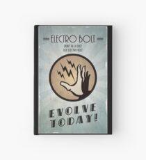 Cuaderno de tapa dura Bioshock Plasmid Poster Electro Bolt
