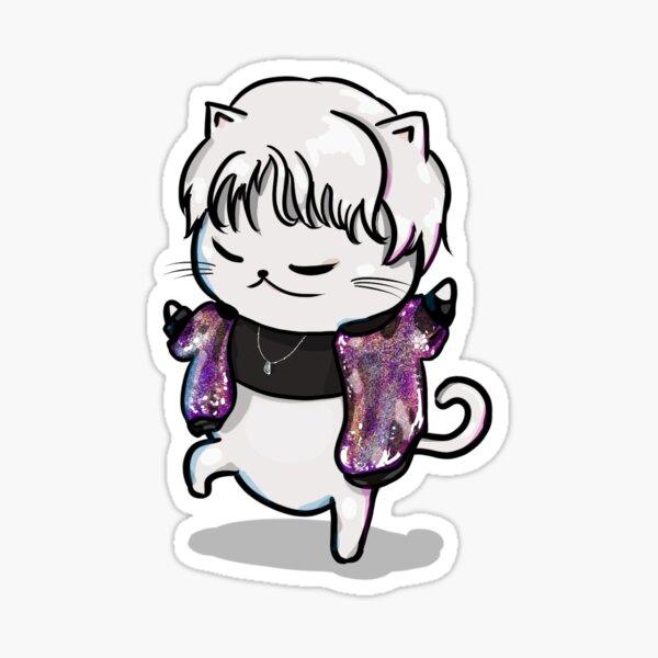Myu-sei the Cat Sticker