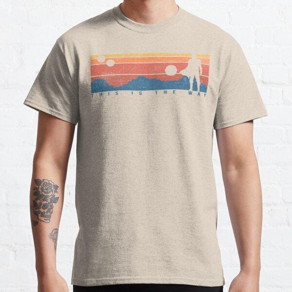 C'est la façon rétro T-shirt classique