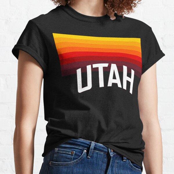 Utah Jazz: Camiseta Gradient City Edición 2020-21 Camiseta clásica