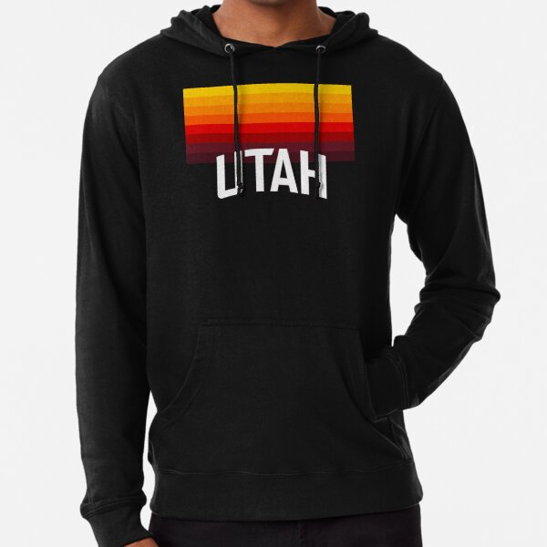 Utah Jazz: 2020-21 Edition Gradient City Jersey Lightweight Hoodie