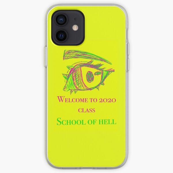 Bienvenidos a la clase 2020 Funda blanda para iPhone