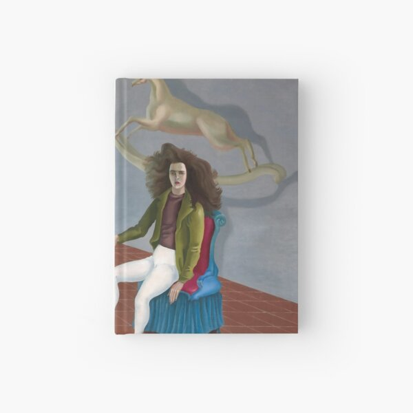 Self-Portrait (Inn of the Dawn Horse) Painting By Leonora Carrington Hardcover Journal