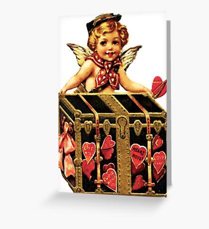 VINTAGE VALENTINE 2 Greeting Card