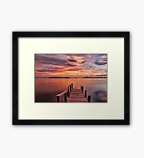 A View To The Bay Framed Print