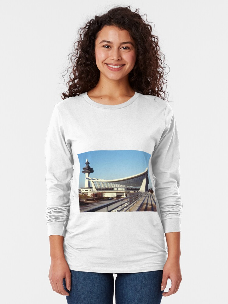 Alternate view of Dulles Airport, Washington DC Long Sleeve T-Shirt