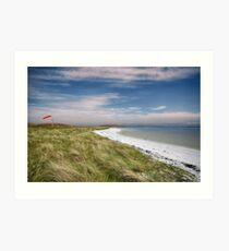 Barra Airport Art Print