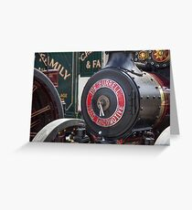 Traction engine Greeting Card